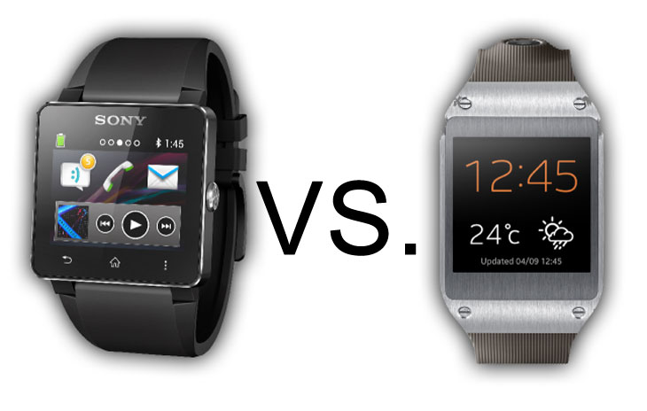 Galaxy Gear vs Smartwatch 2