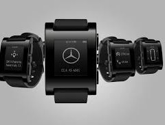 Pebble smartwatch w służbie Mercedesowi