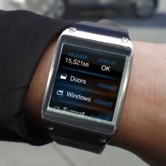 Aplikacja Galaxy Gear Remote kontrolująca BMW
