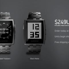Pebble Smartwatch w wersji z lepszą obudową jako Pebble Steel
