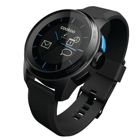 cookoo smartwatch czarny