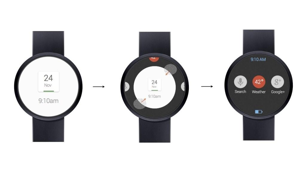 Google smartwatch - koncept
