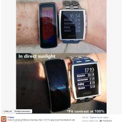 O ekranach w smartwatchach słów kilka
