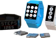 Smartwatch zbudowany z klocków