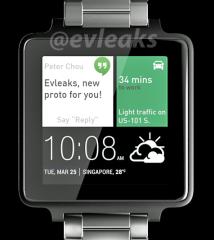 Ujawniono prawdopodobny design zegarka od HTC