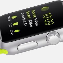 Smartwatch Apple Watch – rzut oka na wyświetlacz