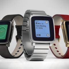 Smartwatch Pebble Time Steel zaprezentowany na Kickstarterze