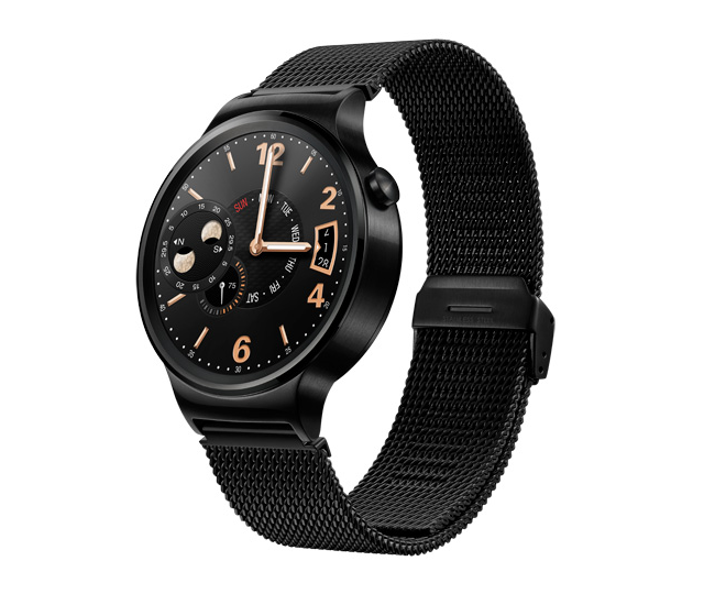 The-Huawei-Watch-black