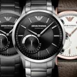 Emporio Armani wypuszcza swoją pierwszą kolekcję smartwatchy hybrydowych
