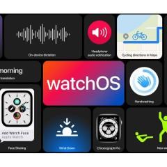 WatchOS 7 to bogatsze tarcze zegarka, monitor snu, więcej opcji treningów, monitor mycia rąk i co jeszcze?